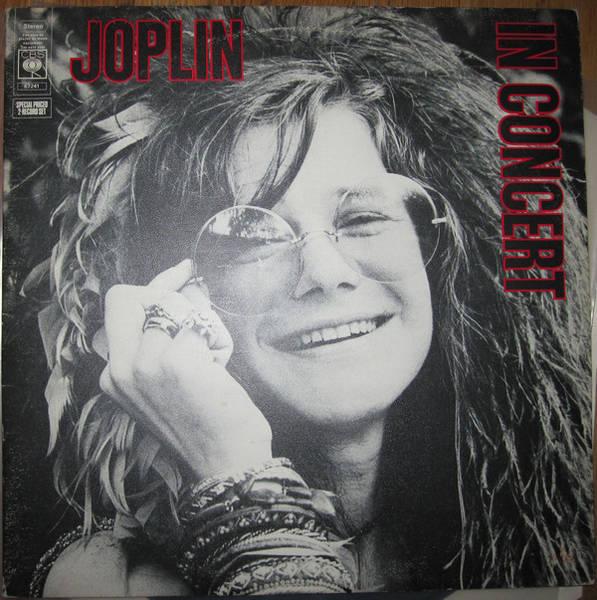 Janis Joplin - Joplin In Concert (Vinyl, LP, Album) | Discogs