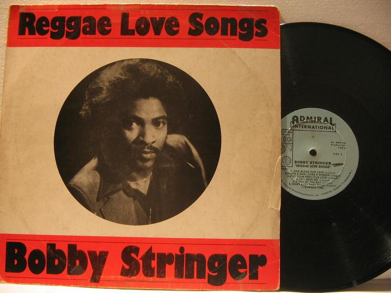 Bobby Stringer Reggae Love Songs Vinyl Records and CDs For Sale
