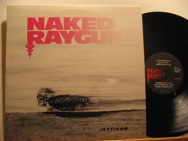 Naked Raygun - the art of Throb Throb [LP] [Black] [MBU