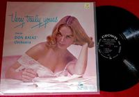 Don Ralke Orchestra - Very Truly Yours - LP