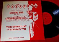 Pasadena High School Marching Band - The Spirit Of Sound '70 - LP