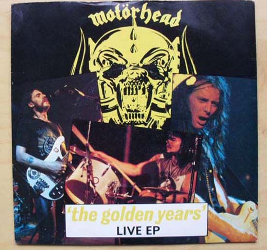 Motorhead Golden Years Live Vinyl Records and CDs For Sale