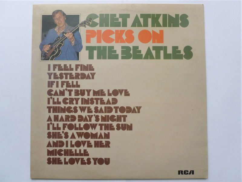 Chet Atkins Picks On Jerry Reed Vinyl Records and CDs For Sale