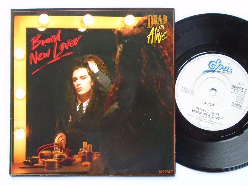 Dead Or Alive - Brand New Lover (Vinyl, 12, 45 RPM, Promo