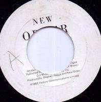 """New Order - True Faith - 7"""""""