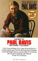 Paul Davis - Best Of Featuring I Go Crazy ~ 1982 Cassette Tape ~ See Our Posted Track Listing With Timing - Cassette