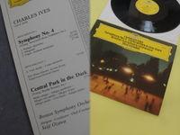 Boston Symphony Orchestra,seiji Ozawa - Charles Ives : Symphony No.4 - Central Park In The Dark - LP