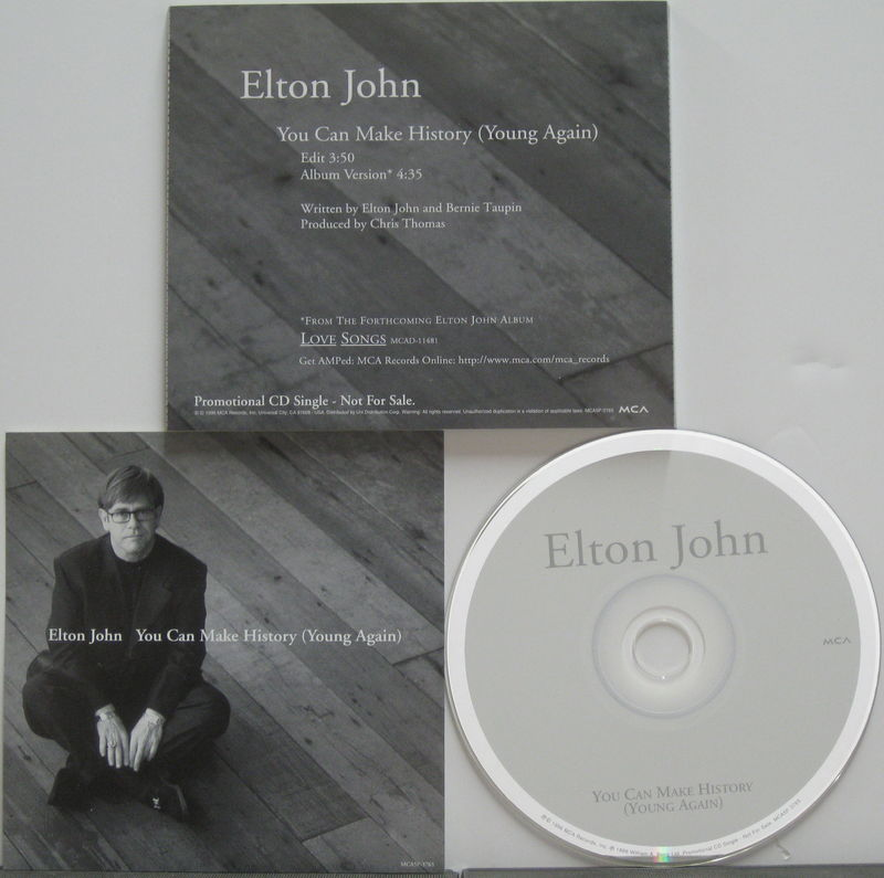 Elton John You Can Make History Vinyl Records and CDs For