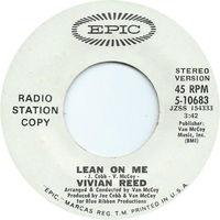Vivian Reed - Lean On Me - 45
