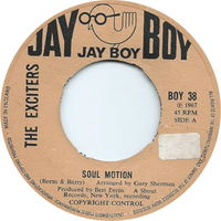 Exciters - Soul Motion - 45