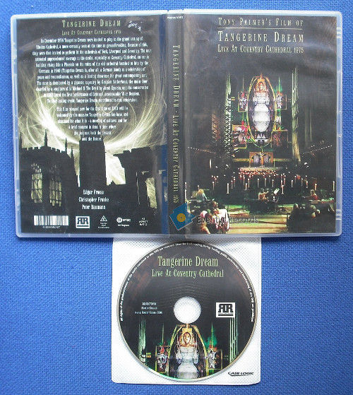 Tangerine Dream Live At Coventry Cathedral 1975 Vinyl Records and