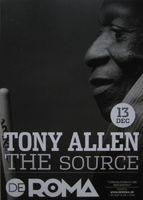 Tony Allen - Card / Flyer For Concert In Antwerp, 13th Dec 2018 - Postcard