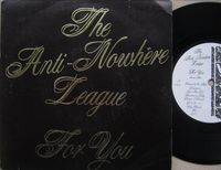 """Anti-nowhere League - For You - 7"""""""