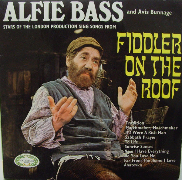 Alfie Fiddler On The Roof Vinyl Records and CDs For Sale