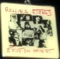 Rolling Stones: - Exile On Main St' Key Ring/key Enamel And Metal Chain New - Memorabilia