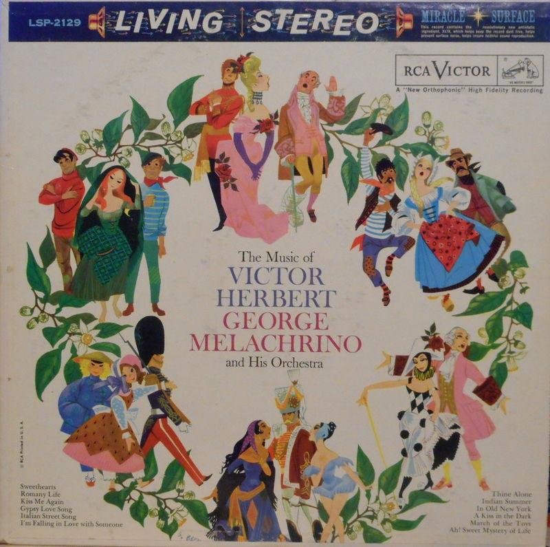 George Melachrino Music Of Victor Herbert Vinyl Records and