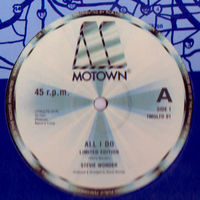 """Stevie Wonder - All I Do / Don't You Worry About A Thing - 12"""""""