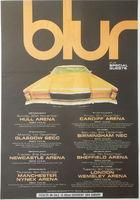 Blur - Uk Tour - Poster