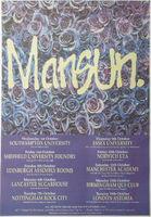 Mansun - Attack Of The Grey Lanterns Tour - Poster