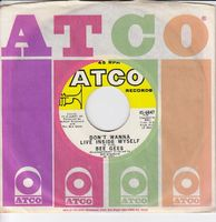 """Bee Gees - Don't Wanna Live Inside Myself / Walking Back To Waterloo - 7"""""""