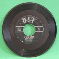 Dave Gibson - Hey Paula/ I Saw Linda Yesterday - 7""