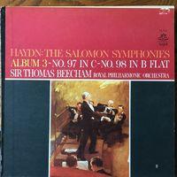 Sir Thomas Beecham - Haydn The Salomon Symphonies - LP+CDR