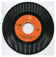 Livingston Taylor - I Will Be In Love With You / How Much Your Sweet Love Means To Me - 45