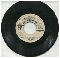Little Jimmy Dickens - Where Did The Sunshine Go / Hey Worm! - 45