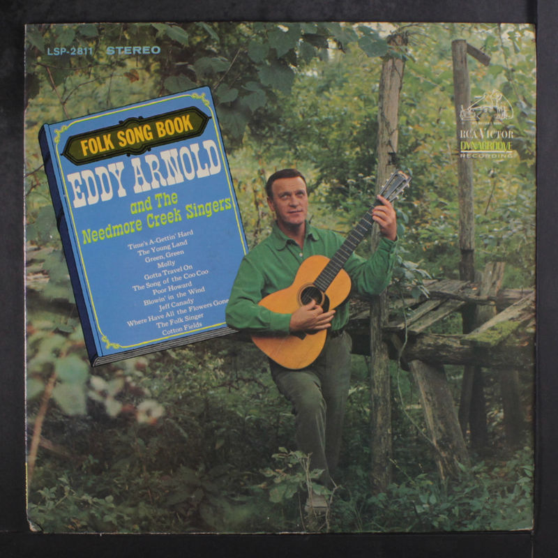 Eddy Arnold Folk Song Book Vinyl Records and CDs For Sale