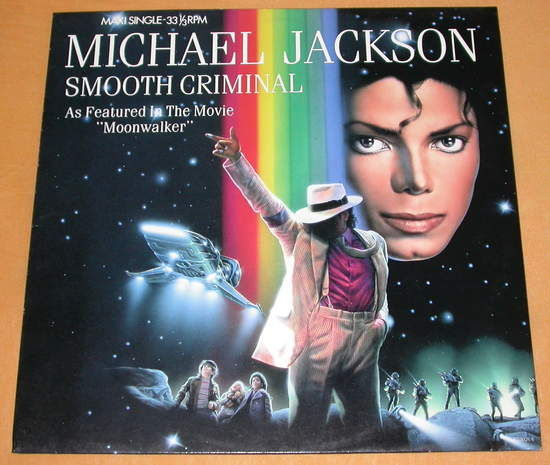 Michael Jackson Smooth Criminal Vinyl Records and CDs For Sale