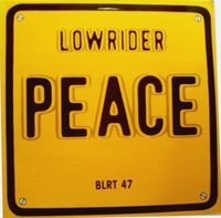 "Peace - Low Rider - 12"" Picture Sleeve"