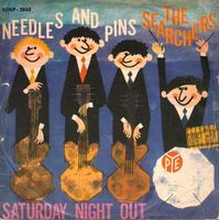 """Searchers - Needles And Pins - Italian Ps Single - 7"""" Picture Sleeve"""