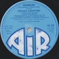Michael Crawford & Original London Cast - Barnum - LP