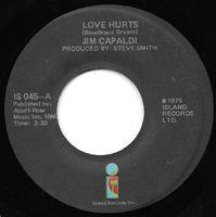 Jim Capaldi - Love Hurts / Sugar Honey - 45