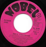 Patrick Zabe - Day-o (talimi-banana) / La Mokera - 45