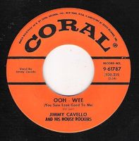 Jimmy Cavello & His House Rockers - Ooh - Wee / Foot Stompin' - 45