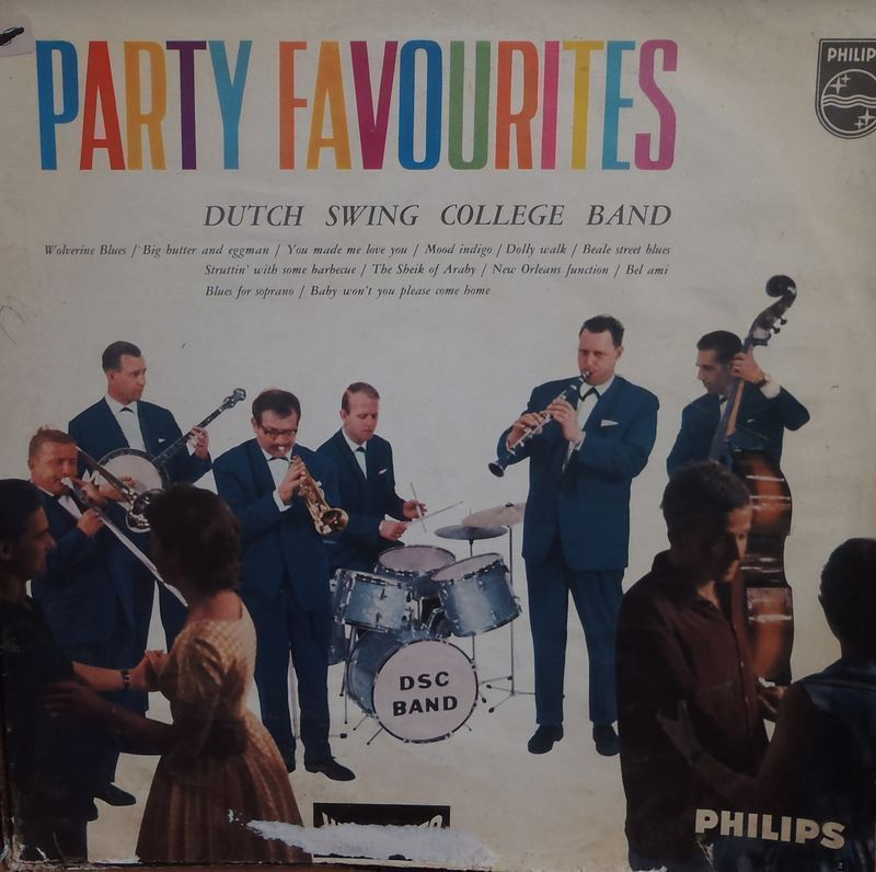 Dutch Swing College Band Party Favourites - Holland Philips 1960s 12