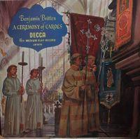 "Benjamin Britten - A Ceremony Of Carols - 10"""