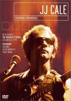 J.j. Cale Featuring Leon Russell - In Session At The Paradise Studios-los Angeles,1979 - DVD