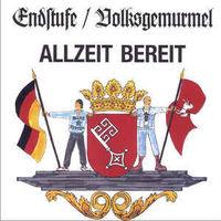 Endstufe / Volksgemurmel - Allzeit Bereit - LP Colored Vinyl