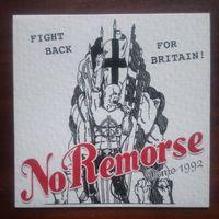 No Remorse - Fight Back For Britain. Demo 1992 - LP Colored Vinyl