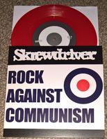 """Skrewdriver - Rock Against Communism / Demo '83 - 7"""" Colored Vinyl"""