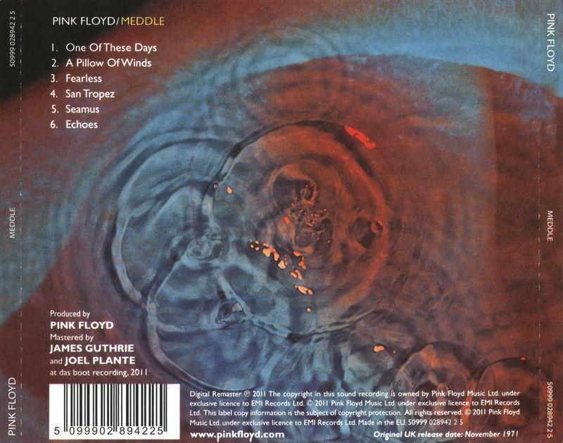 Pink Floyd - Meddle (CD) For Sale