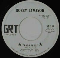 "Bobby Jameson - Palo Alto / Singing The Blues (promo) - 7"" White Label"