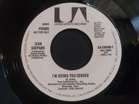 "Jean Shepard - I'm Giving You Denver (promo) - 7"" White Label"