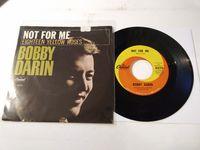 "Bobby Darin - 18 Yellow Roses (scranton) - 7"" Picture Sleeve"