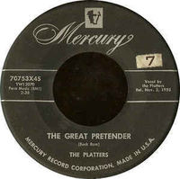 Platters - The Great Pretender - 7""