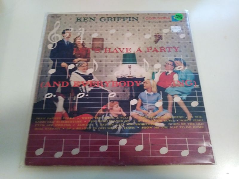 Ken Griffin Let's Have A Party Vinyl Records and CDs For
