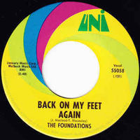"""Foundations - Back On My Feet Again / I Can Take Or Leave Your Loving - 7"""""""
