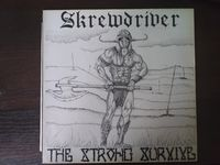 Skrewdriver - The Strong Survive - LP
